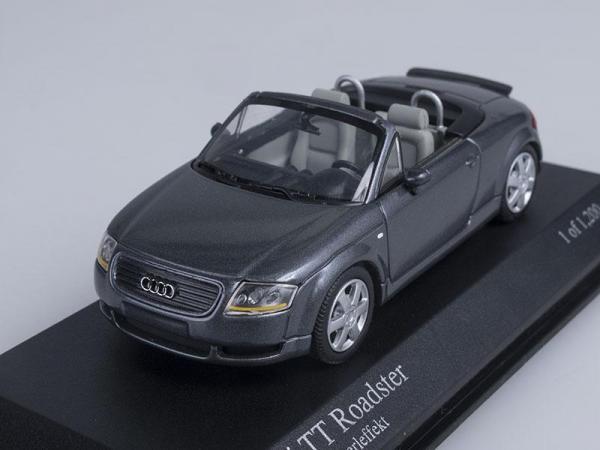 Audi TT Roadster (Minichamps) [1999г., Серый металлик, 1:43]