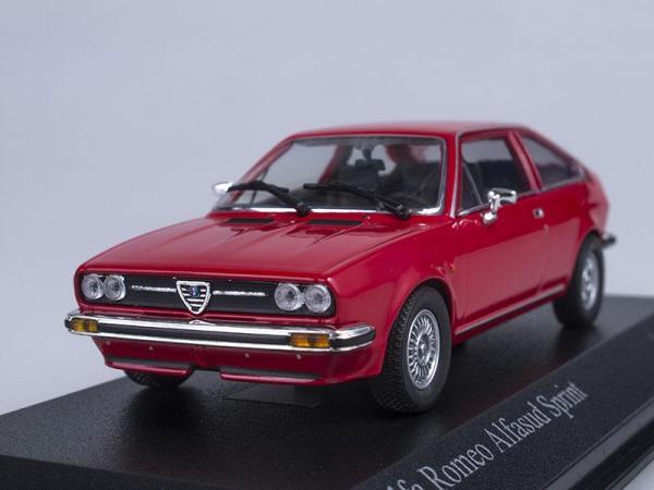 Alfa Romeo Alfasud Sprint (Minichamps) [1976г., Красный, 1:43]