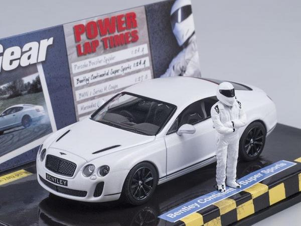 Bentley Continental Super Sports - Top Gear + Stig (Minichamps) [2002г., Белый, 1:43]