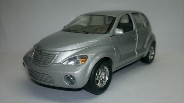 Chrysler PT Cruiser (Boley Corp) [2000г., Серебристый металлик, 1:32]
