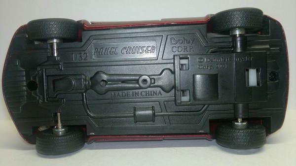 Chrysler Panel Cruiser (Boley Corp) [2000г., Вишневый металлик, 1:32]