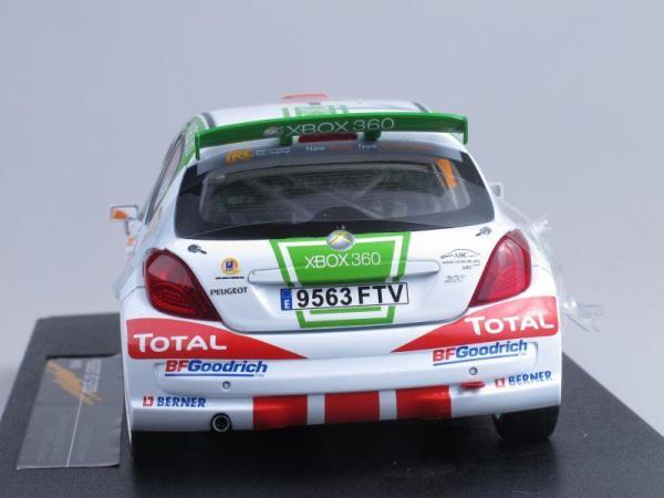 Peugeot 207 S2000 - #1 E.G Ojeda/J.Barrabes (Sunstar) [2006г., Белый, 1:18]