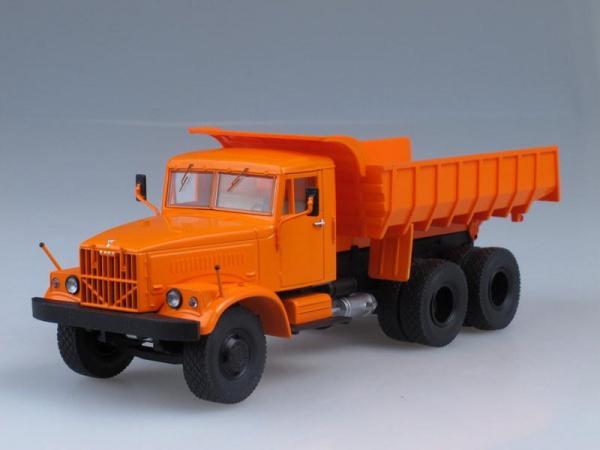 КрАЗ-256Б самосвал (Start Scale Models (SSM)) [1966г., Оранжевый, 1:43]