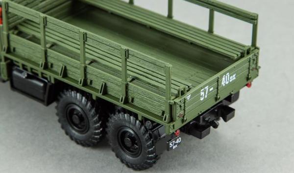 ЗИЛ-157К с лебедкой и тентом (DiP Models) [1958г., Хаки и светло-зеленый, 1:43]