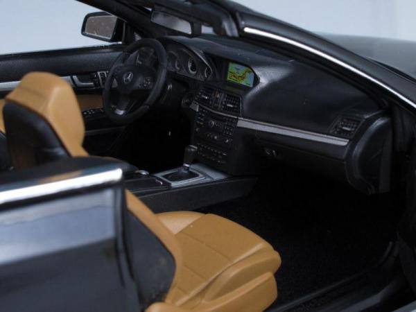 Mercedes E-Klasse Cabriolet (Norev) [2009г., Черный, 1:18]