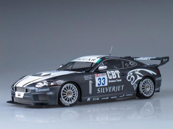 Jaquar XKR GT3 Qualife/Hall FIA GT3 Championship (Minichamps) [2008г., Серый, 1:18]