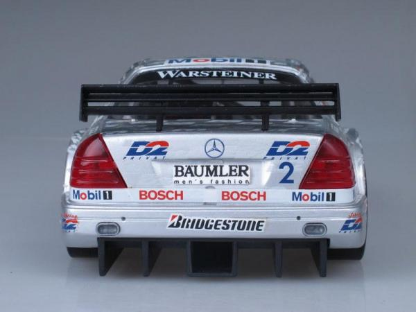 Mercedes Benz AMG-C-Class ITC (Exclusiv Cars) [1996г., Серебристый металлик, 1:18]