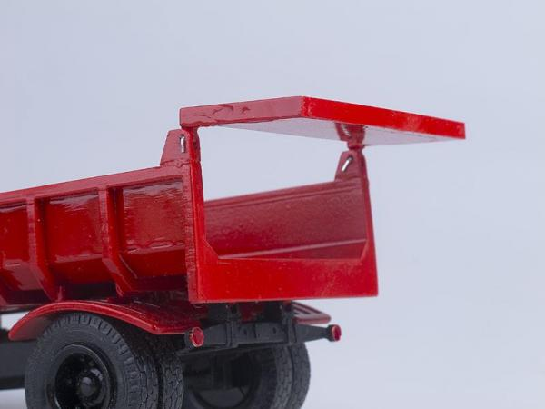 Прицеп к МАЗ-503 (D.N.K.) [1965г., Красный, 1:43]