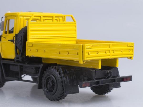 Зил-4327 (dnk) 1998г, желтый, 1:43