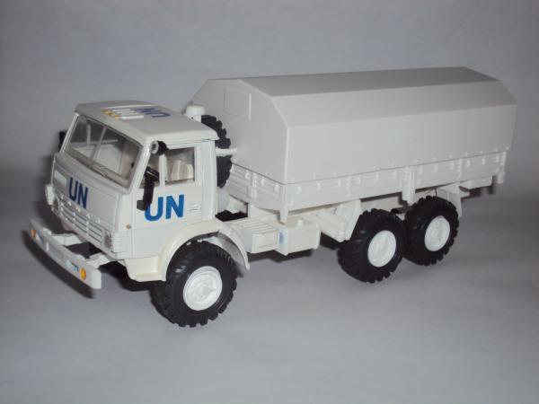 Камаз-4310 UN (ООН) (Элекон) [1979г., белый, 1:43]