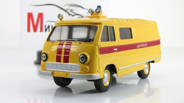 ЕрАЗ-762ВГП аварийный (Vector-Models) [1996г., Желтый с красными полосами, 1:43]
