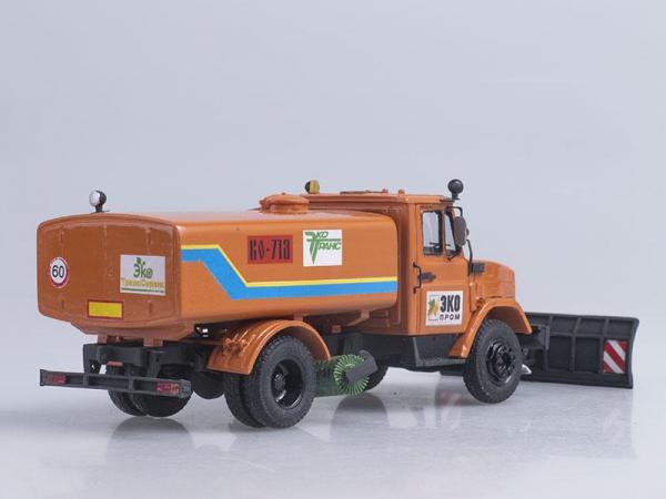 ЗИЛ-4331 КО-713 (D.N.K.) [1986г., Оранжевый, 1:43]