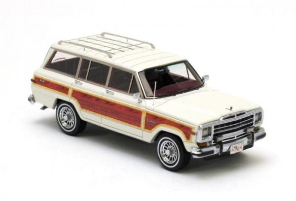 JEEP Wagoneer (Neo Scale Models) [1991г., Белый, 1:43]