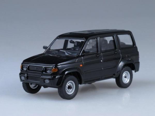 УАЗ-3162 Симбир (Автоистория (АИСТ)) [2000г., Черный, 1:43]