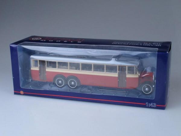 ЯА-2 ЯГАЗ (ULTRA Models) [1934г., красно-бежевый, 1:43]
