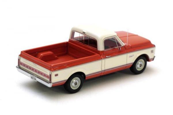 Chevrolet C10 (Neo Scale Models) [1971г., Красный, белый, 1:43]