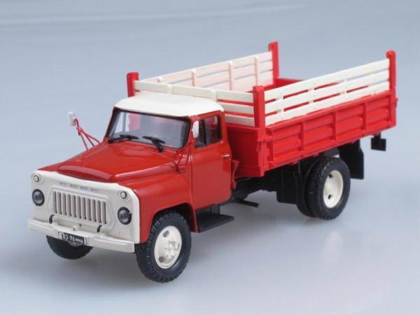 ГАЗ-53Б выставочный, конверсия(НАП) (Vector-Models) [1961г., Красный с белым, 1:43]