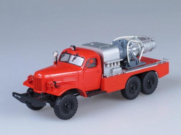 АГВТ-100 (ЗИЛ-157К) газоводотушения (Vector-Models) [1965г., Красный, 1:43]
