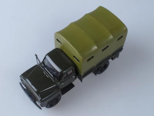 52-05 тент, грузовое такси, конверсия (НАП) (Vector-Models) [1975г., Хаки, 1:43]