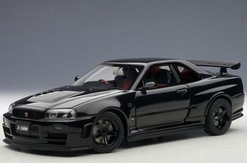 Nissan Skyline GT-R (R34) Nismo Z-Tune 2005 (Autoart) [2005г., Черный, 1:18]
