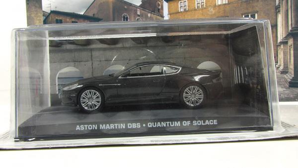 "ASTON MARTIN DBS ""Джеймс Бонд Квантум Милосердия (Atlas/IXO) [2007г., Серый, 1:43]"
