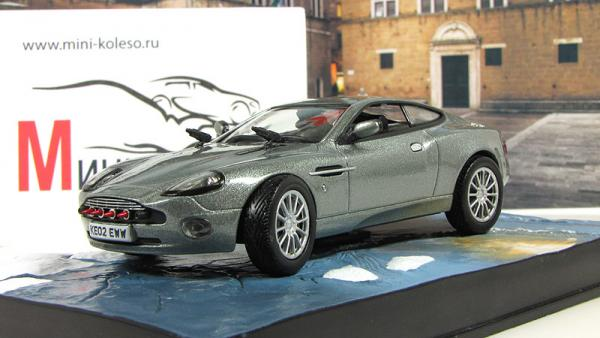 ASTON MARTIN V12 Vanquish Die Another Day 2002 Silver (Atlas/IXO) [2002г., Серебристый, 1:43]