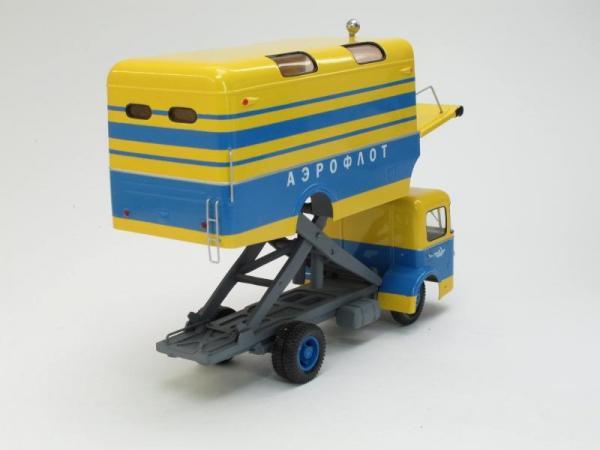 Автолифт АЛ-1 з-да №85 ГА (Vector-Models) [1959г., Лимонный с синим, 1:43]