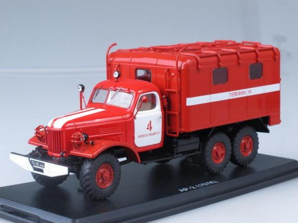 Рукавный автомобиль АР-2 на шасси ЗИЛ-157К (Start Scale Models (SSM)) [1966г., Красный с белым, 1:43]