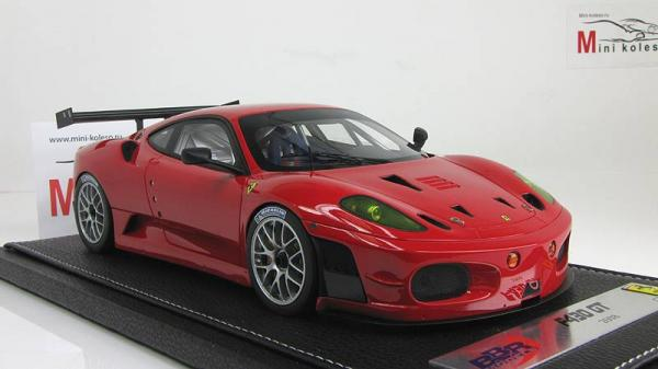 Ferrari F430 GT2 Press 2008 (BBR) [2008г., Красный, 1:18]