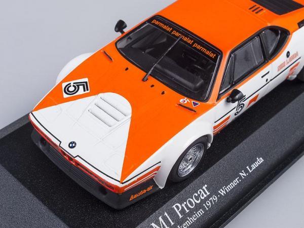 BMW M1 Procar N.Lauda Procar Series, 1979 (Minichamps) [1978г., Белый с оранжевым, 1:43]