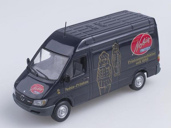 Mercedes-Benz Sprinter «Nobis» (Minichamps) [1995г., Черный, 1:43]