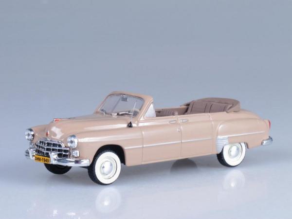 ГАЗ-12А «ЗиМ» со сложенным тентом (Vector-Models) [1949г., Бежевый, 1:43]