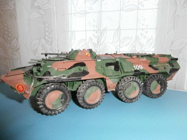 БТР-80 (ОАО Звезда) [зелёный, 1:35]