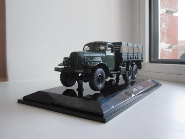 Зил 157К (DiP Models) [1961г., зеленый, 1:43]