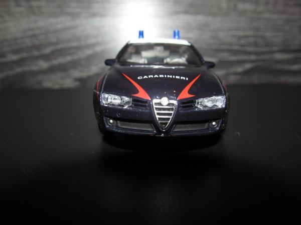 Alfa Romeo 159 Sportwagon карабинеры Италии (Welly) [2006г., черный, 1:43]