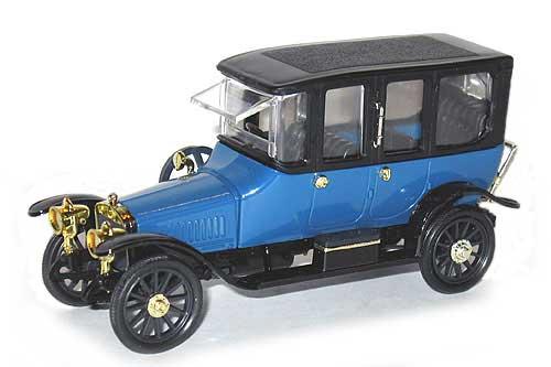 Руссо-Балт C 24-40 лимузин (Агат, Радон) [1909г., синий, 1:43]