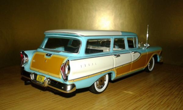 Edsel Bermuda Station Wagon (Minichamps) [1958г., бирюзовый, 1:43]