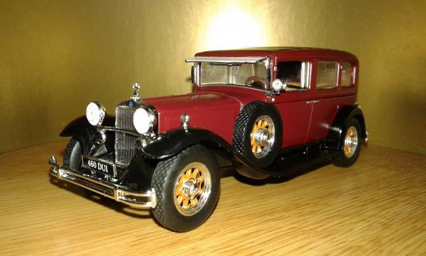Mercedes-Benz 460 N Pullman (Altaya/IXO) [1929г., бордовый, 1:43]