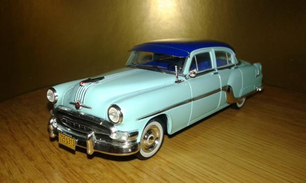 Pontiac Chieftain (Premium X) [1954г., бирюзовый, 1:43]