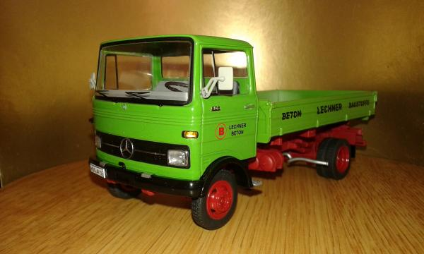Mercedes-Benz LP 608 (Schuco) [1964г., зеленый, 1:43]