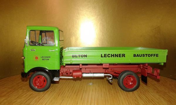 Mercedes-Benz LP 608 (Schuco) [1964г., зеленый, 1:43]