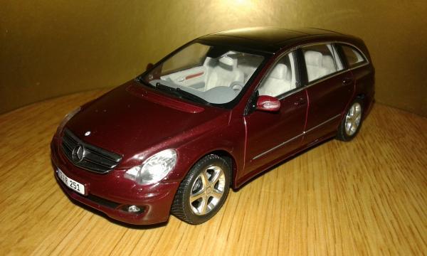Mercedes-Benz R-Class (Minichamps) [2005г., бордовый, 1:43]