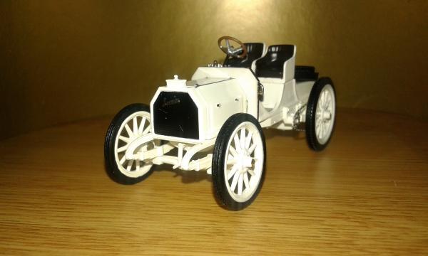 Mercedes Simplex 35HP (IXO) [1901г., белый, 1:43]