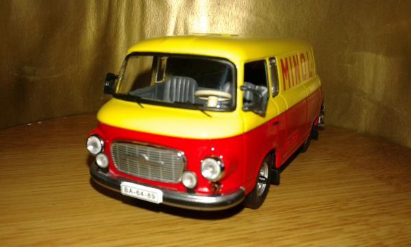 Barkas B1000 (IST Models) [1960г., желтый-красный, 1:43]