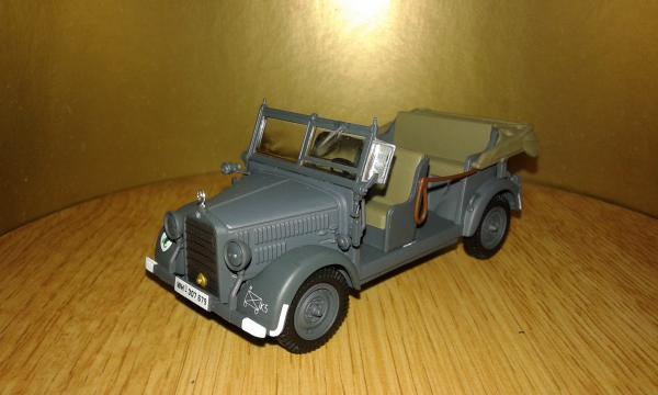 Mercedes-Benz 200V G5 (IXO) [1938г., серый, 1:43]