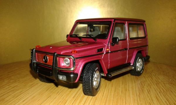 Mercedes-Benz G-Class (Autoart) [1990г., лиловый металлик, 1:43]