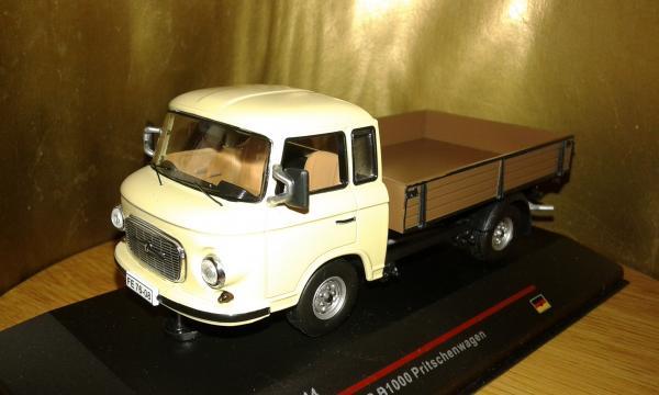 Barkas B1000 Pick-up (IST Models) [1968г., Бежевый коричневый, 1:43]
