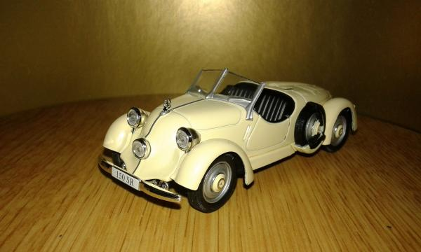 Mercedes-Benz 150 Sport Roadster (WhiteBox) [1935г., Бежевый, 1:43]