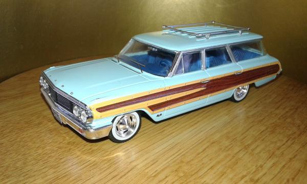 Ford Country Squire (Premium X) [1964г., голубой, 1:43]