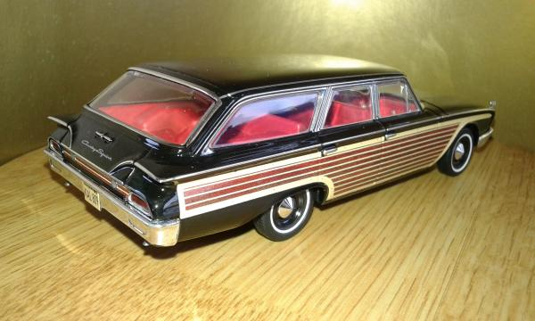 Ford Country Squire (Premium X) [1960г., черный, 1:43]